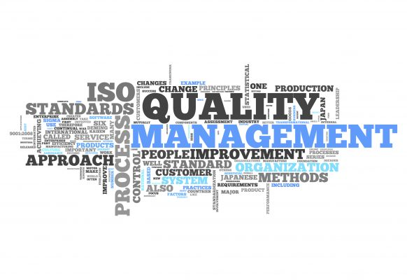Word Cloud with Quality Management related tags